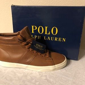 Polo Shoes, Shaw Tan Leather